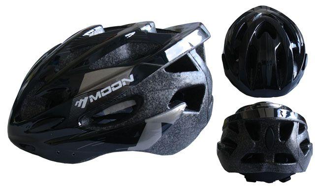 Cyklistická prilba veľkosť M - čierna