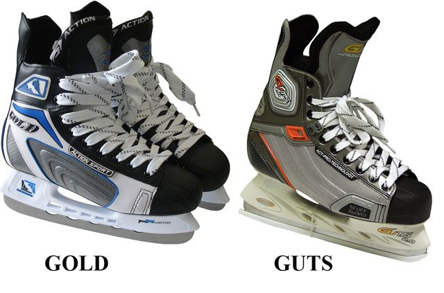 Hokejové korčule chlapčenské, veľ. 40