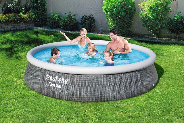 Bazén samostavací - 396 x 84 cm s filtrom