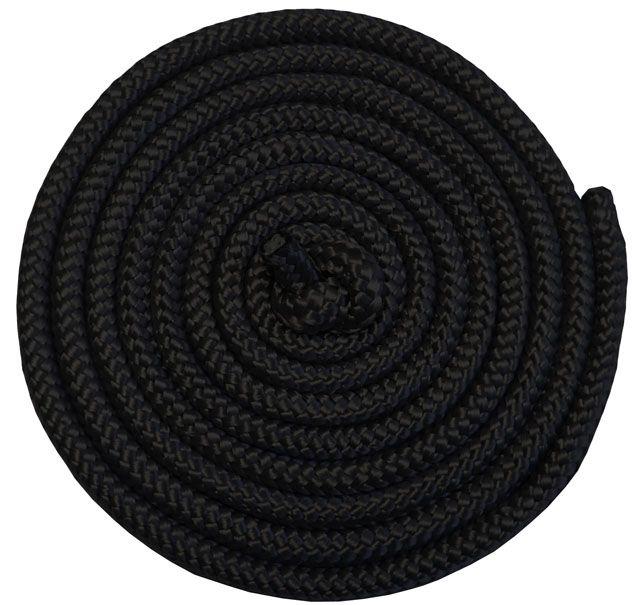 Gymnastické švihadlo - 3 m, čierne
