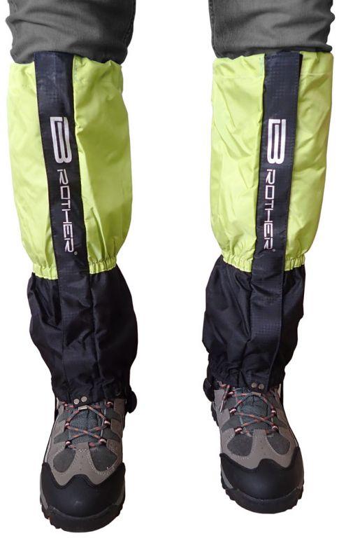 Turistické návleky komfortné zelené - 1 pár