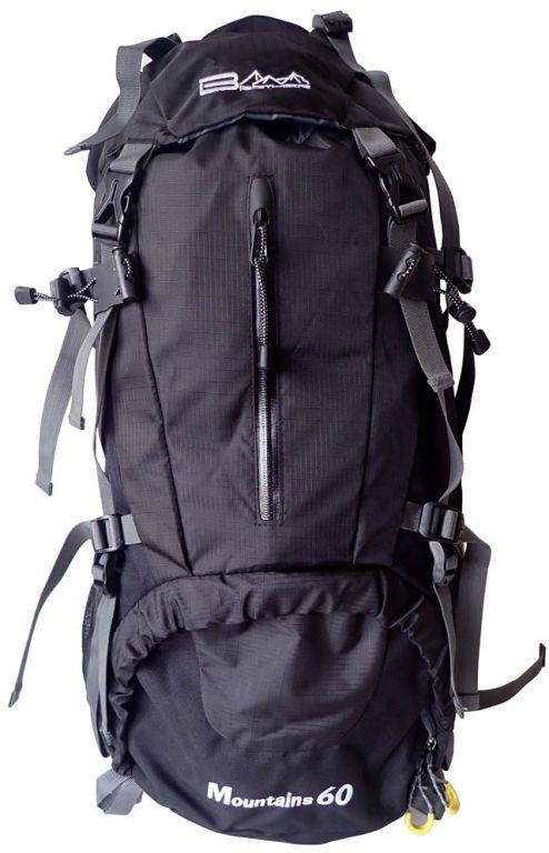 Batoh pre horskú turistiku 60 l, čierny