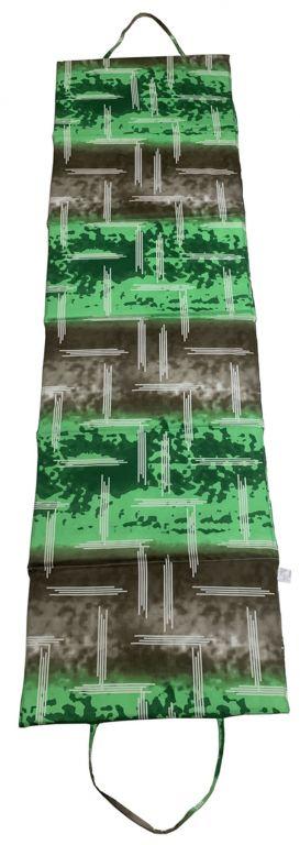 Skladacie plážové lehátko - zelené