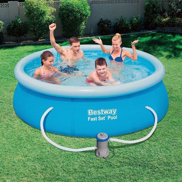 Bestway samonosný bazén 244x66cm s filtráciou