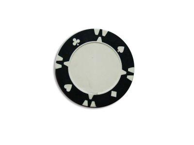 Kusový žeton design Flop černý - 1 ks