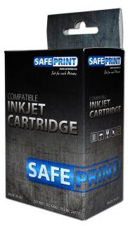 Inkoust Safeprint CLI-521C kompatibilní azurový pro Canon iP3600/4600/4700 a MP540/550/560