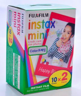 Instantný film Fujifilm Color film Instax mini glossy 20 fotografií