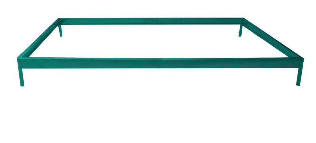 Základňa G21 ku skleníku 3,1 x 1,9 m zelená