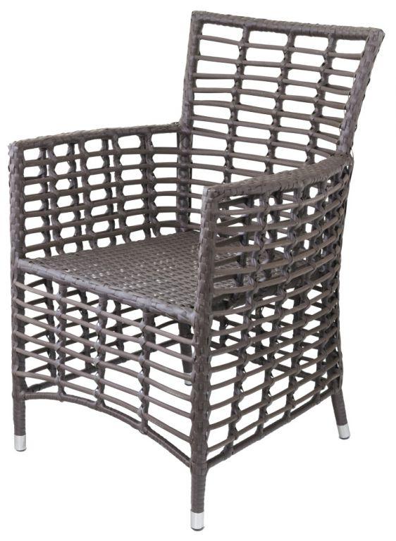 Ratanová stolička G21 Royal brazílsky dub