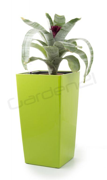 Samozavlažovací květináč G21 Linea small zelený 28cm