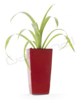 Samozavlažovací kvetináč G21 Linea mini červený 14cm