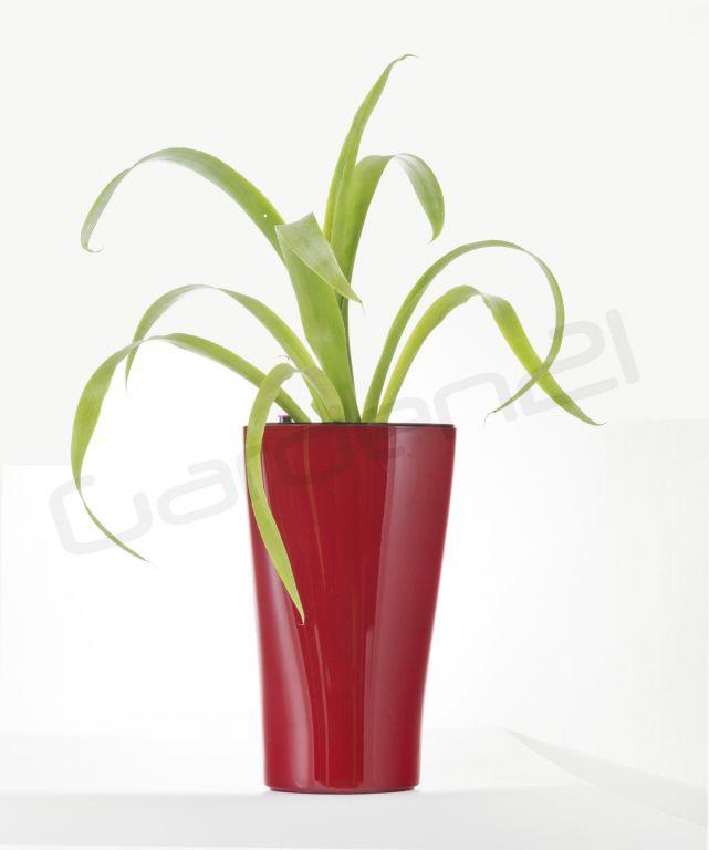 Samozavlažovací kvetináč G21 Trio mini červený 15cm