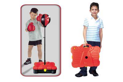Boxovací balón G21 s príslušenstvom v kufri 90/130cm