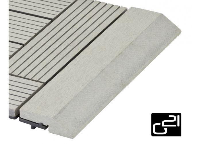 Prechodová lišta G21 pre WPC dlaždice Incana 30x75 cm rovná