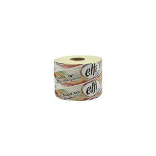 Toaletní papír Elfi barevný recy (návin 66m, průměr 13 cm) 2 vrstvy, 24ks