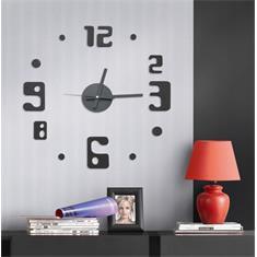 Samolepící hodiny G21 Eccentric Style