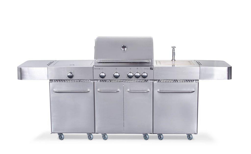 Plynový gril G21 Arizona, BBQ kuchyne Premium Line 6 horákov