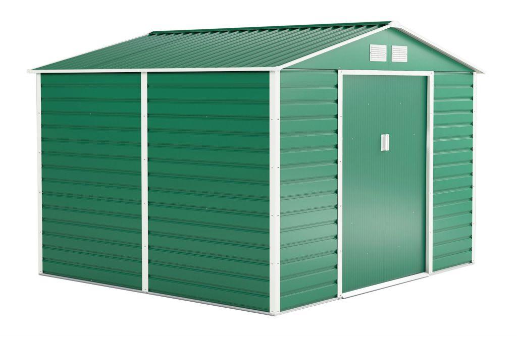 G21 Záhradný domček GAH 706 - 277 x 255 cm, zelený
