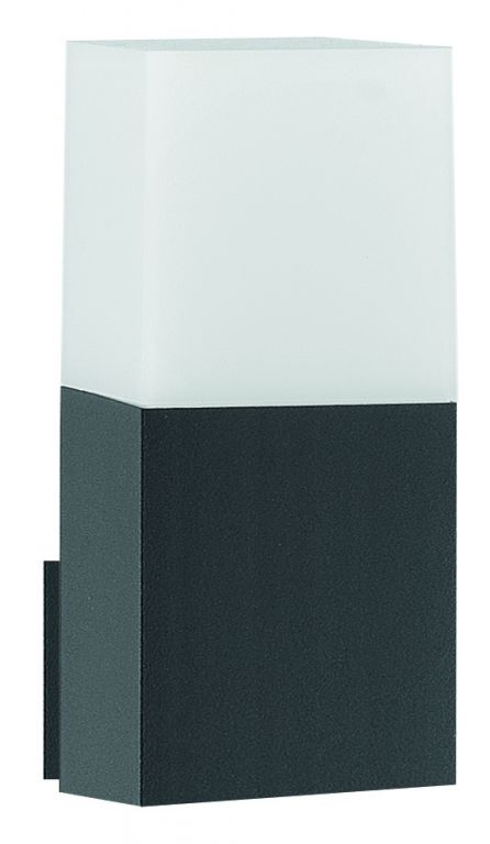 Svietidlo Nova Luce STICK WALL GREY nástenné, IP 54, E27
