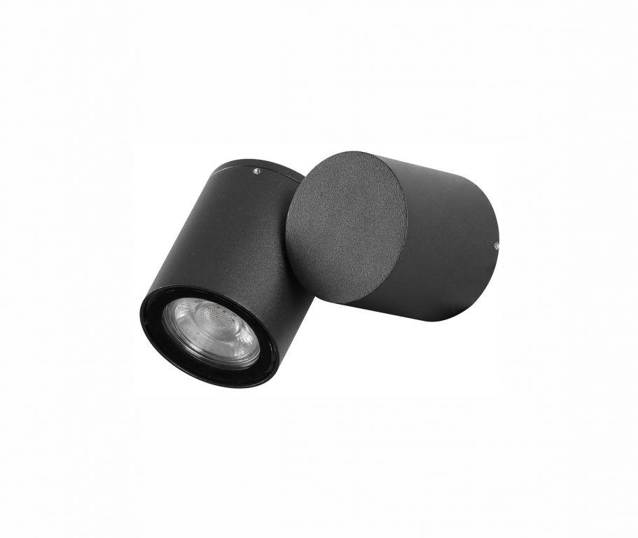 Svietidlo Nova Luce FOCUS WALL BLACK nástenné, IP 54, GU10