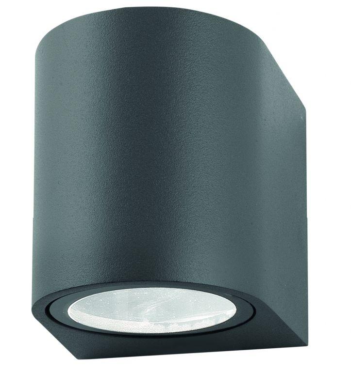 Nástenné osvetlenie Nova Luce Nero R, 8 cm