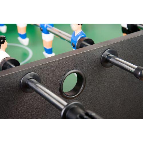 Stolný futbal  čierny MDF 121 x 101 x 79 cm