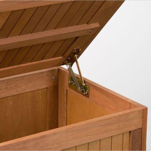 Záhradný box s polstrovaním, 113 x 52,5 x 60,5 cm