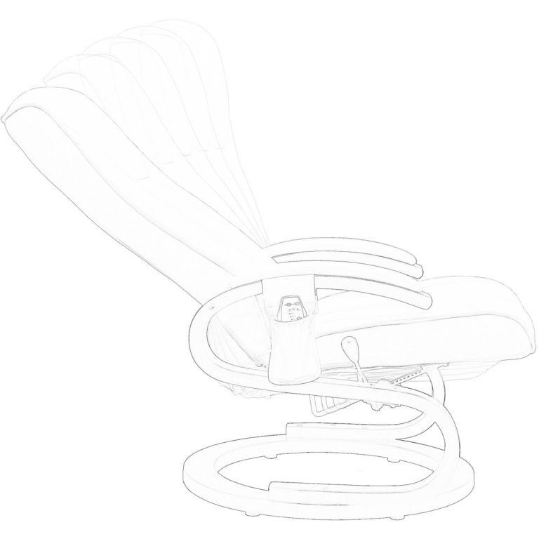 Masážne kreslo stilista rady S - farba krémová