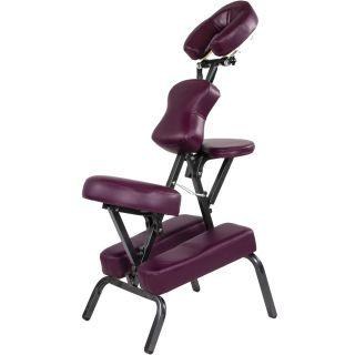 Masážne stoličky MOVIT skladacie vínová 8,5 kg