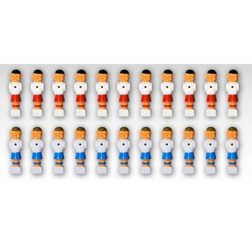 Náhradné figúrky na stolný futbal 22 ks