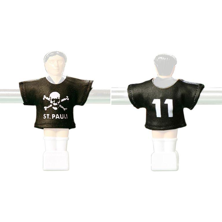 OEM M01386 Náhradné futbalové dresy St Pauli 11 ks