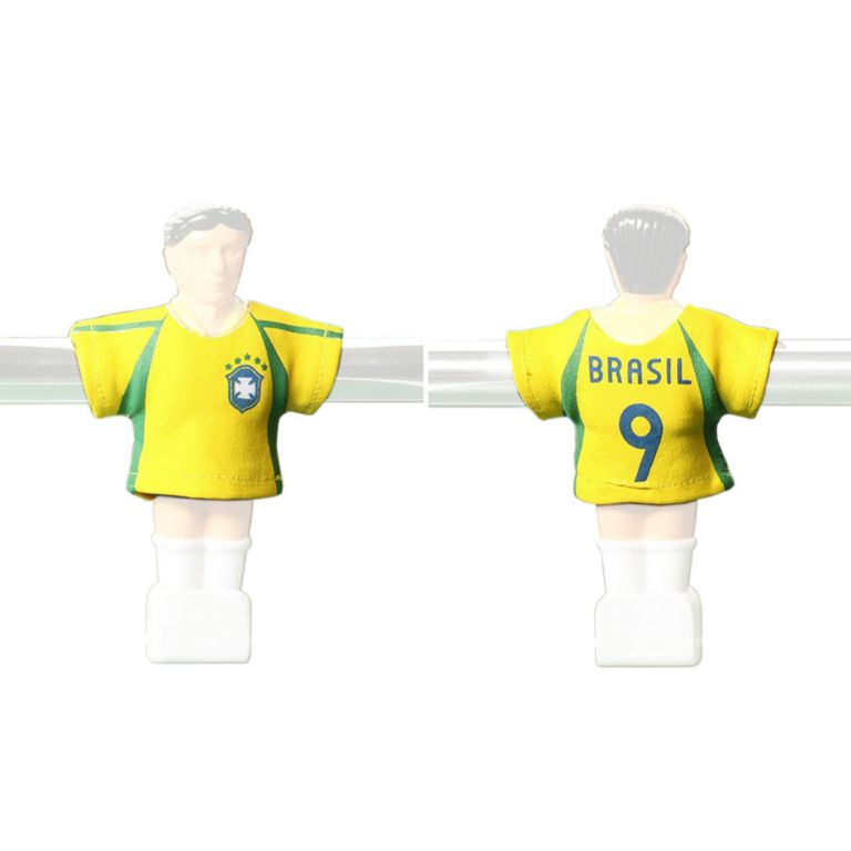 Náhradné futbalové dresy Brazília 11 ks