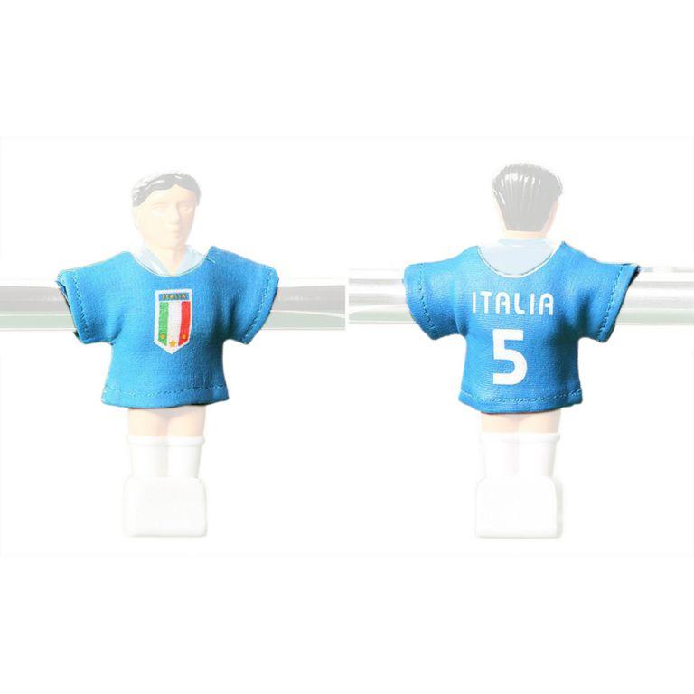 Náhradné futbalové dresy Talianska 11 ks