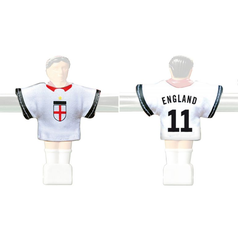 Náhradné futbalové dresy Anglicka 11 ks