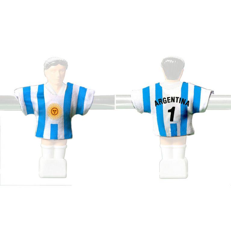Náhradné futbalové dresy Argentíny 11 ks