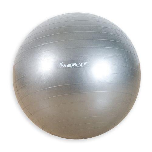 MOVIT 1988 Gymnastický míč stříbrný 65 cm