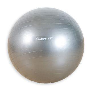 Gymnastická lopta Movit strieborná 65 cm