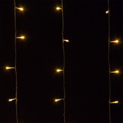 Vianočné LED osvetlenie - 40 m, 400 LED, teple biele