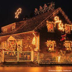 Vianočný svetelný dážď 400 LED teplá biela - 10 m