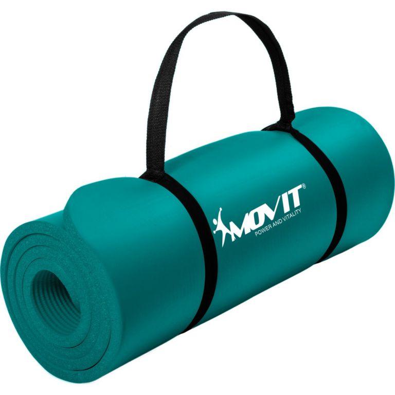Podložka na jógu MOVIT 190 x 60 x 1,5 cm tmavo tyrkysová