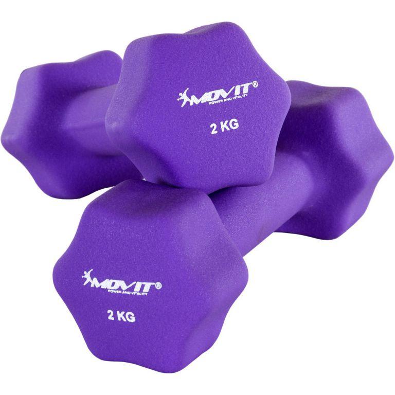 Set 2 činiek s neoprénovým povrchom 2 kg MOVIT