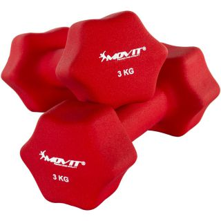 Set 2 činiek s neoprénovým povrchom 3 kg MOVIT