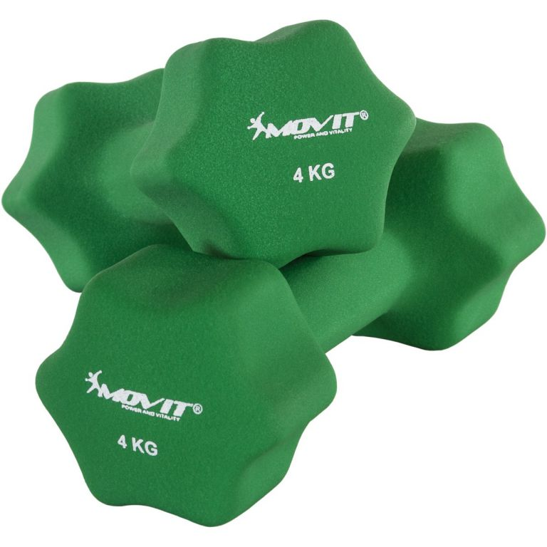 Set 2 činiek s neoprénovým povrchom 4 kg MOVIT