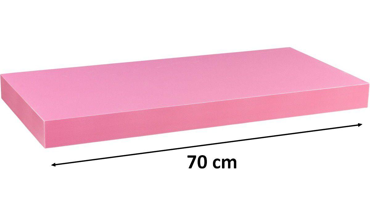 Nástenná polica STILISTA VOLATO - ružová 70 cm