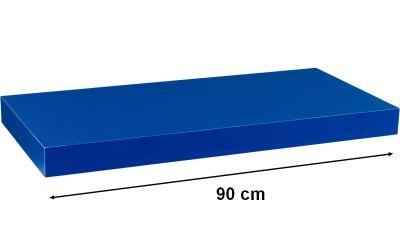 Nástěnná police STILISTA VOLATO - modrá 90 cm