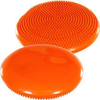 Balančný vankúš na sedenie MOVIT 33 cm, oranžový