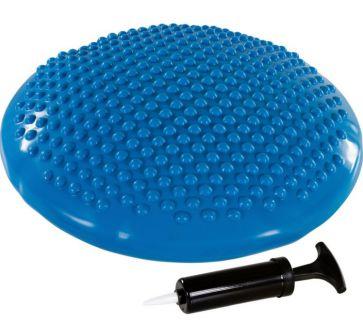 Balančný vankúš na sedenie MOVIT 37 cm, modrý