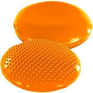 Balančný vankúš na sedenie MOVIT 37 cm, oranžový