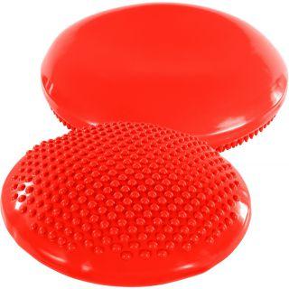 Balančný vankúš na sedenie MOVIT 37 cm, červený