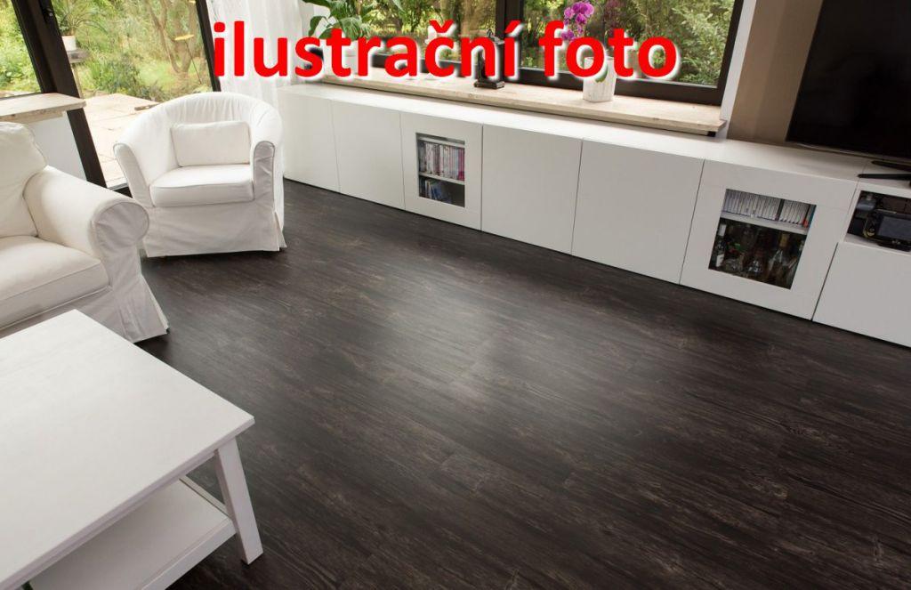 Vinylová podlaha STILISTA 5,07 m2 - rustikální tmavý dub
